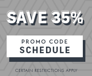 Save with promo code SCHEDULE